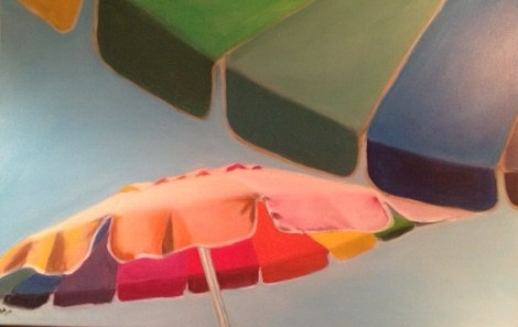 Sunny Umbrellas